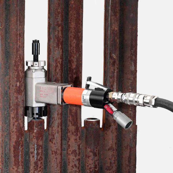 GBC Mini K Pneumatic Pipe Bevelling Machine
