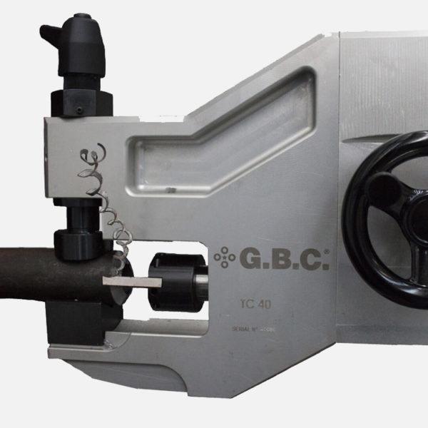 TC73 & TC40 OD Locking Pipe Bevelling Machines