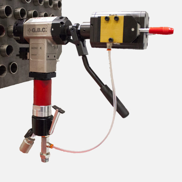 Mini K Lever Pipe Bevelling Machine and Auto-Lock for Boiler Tube Facing
